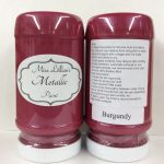 Metallic Paint 8 oz - burgundy