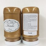 Metallic Paint 8 oz - gold