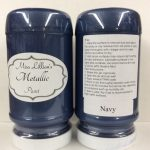 Metallic Paint 8 oz - navy