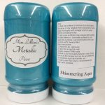 Metallic Paint 8 oz - shimmering-aqua