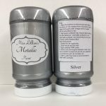 Metallic Paint 8 oz - silver