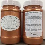 Shimmering Luster Topcoat - copper