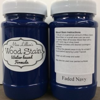 Wood Stain - Faded Navy