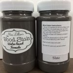 Wood Stain 8 oz - slate