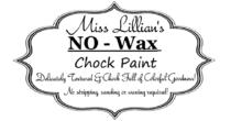 Miss Lillian's NO WAX Chock Paint