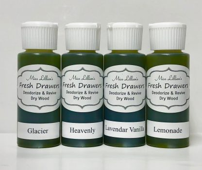 Fresh Drawers Sample Set - GlacierHeavenlyLav VanillaLemonade