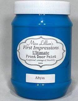 Front Door Paint - Abyss