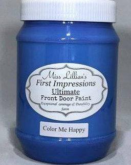 Front Door Paint - Color Me Happy