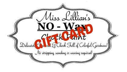 Miss Lillians GIFT CARD logo